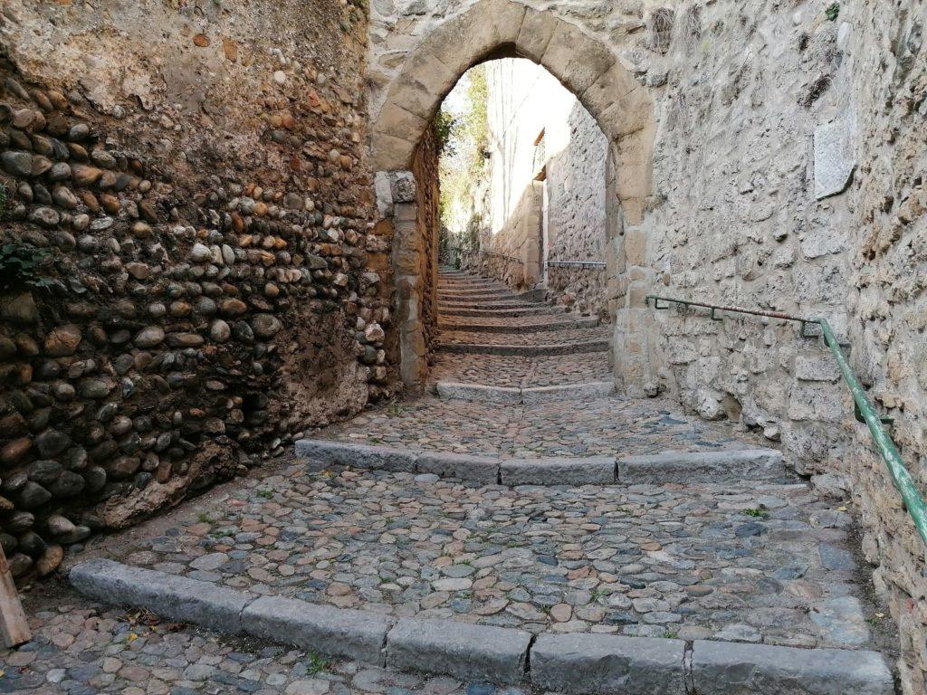 Escaliers de Valence après le parc Saint-Ruff