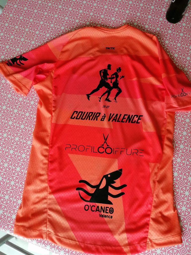 T-shirts Courir à Valence saison 2020-2021